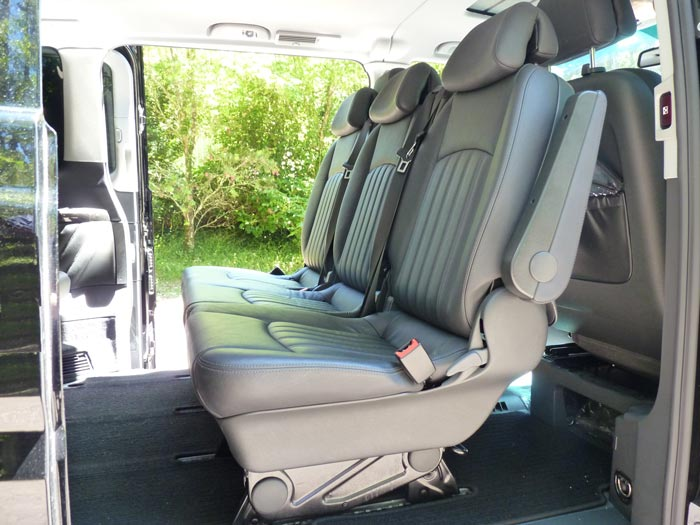 Viano backseats